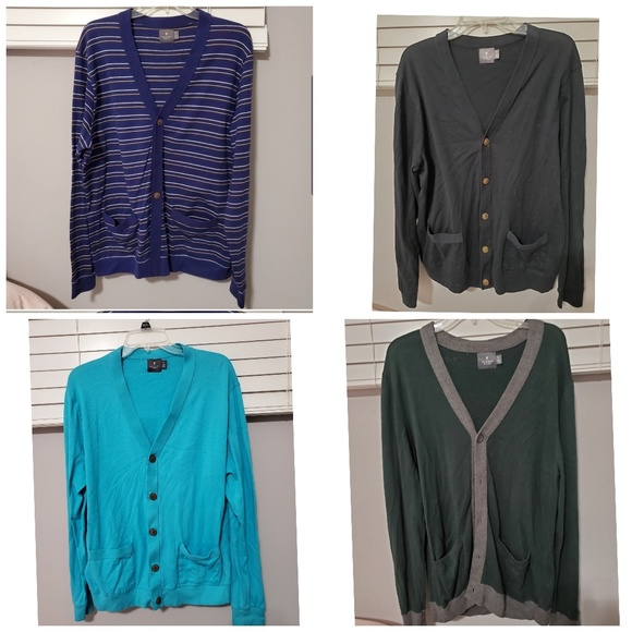hawkings mcgrill Other - Mens Button Up Cardigan - Qty 4 Good Condition